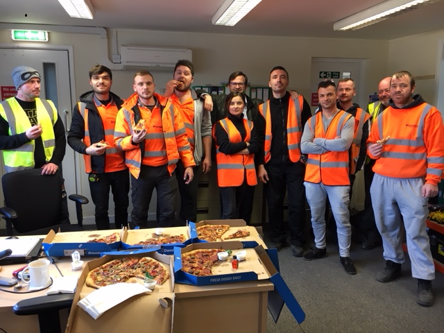 Exeter celebrate one year without a loss time accident!