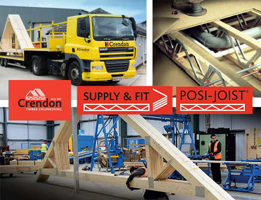 All go at Crendon Timber Engineering this month!