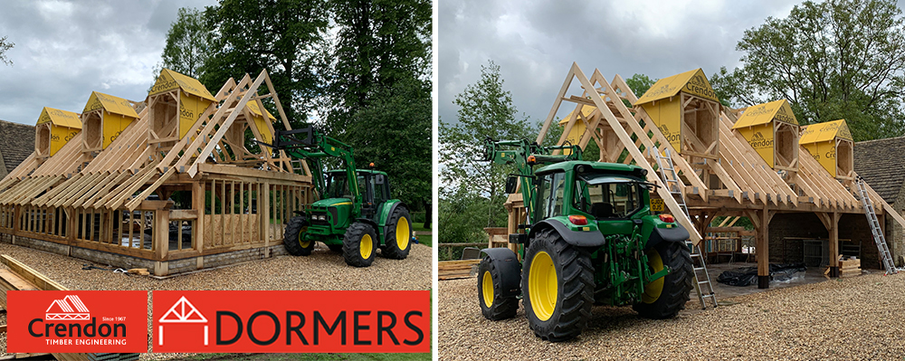 New Prefabricated Timber Dormers now available from Crendon