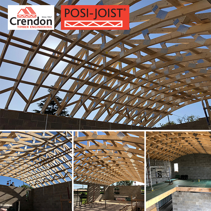 Curved Trusses and Posi-Joists