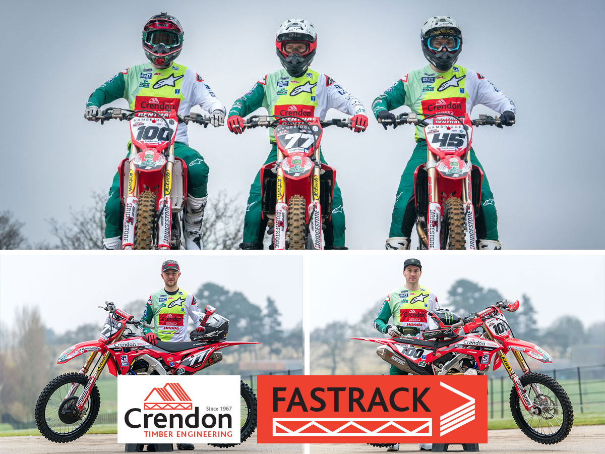 The Crendon FASTRACK Honda MX Team launch Team Colours and Practice Plans for the 2021 Race Season