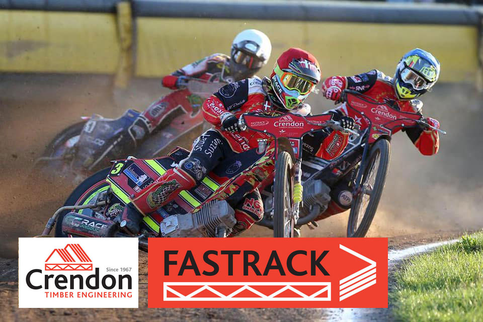 Crendon FASTRACK Panthers Speedway Team celebrate a great 58:32 win over Kings Lynn