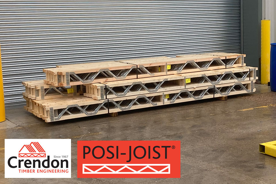 Our first Posi-Joist Order manufactured this week at our new Castleford Production Facility
