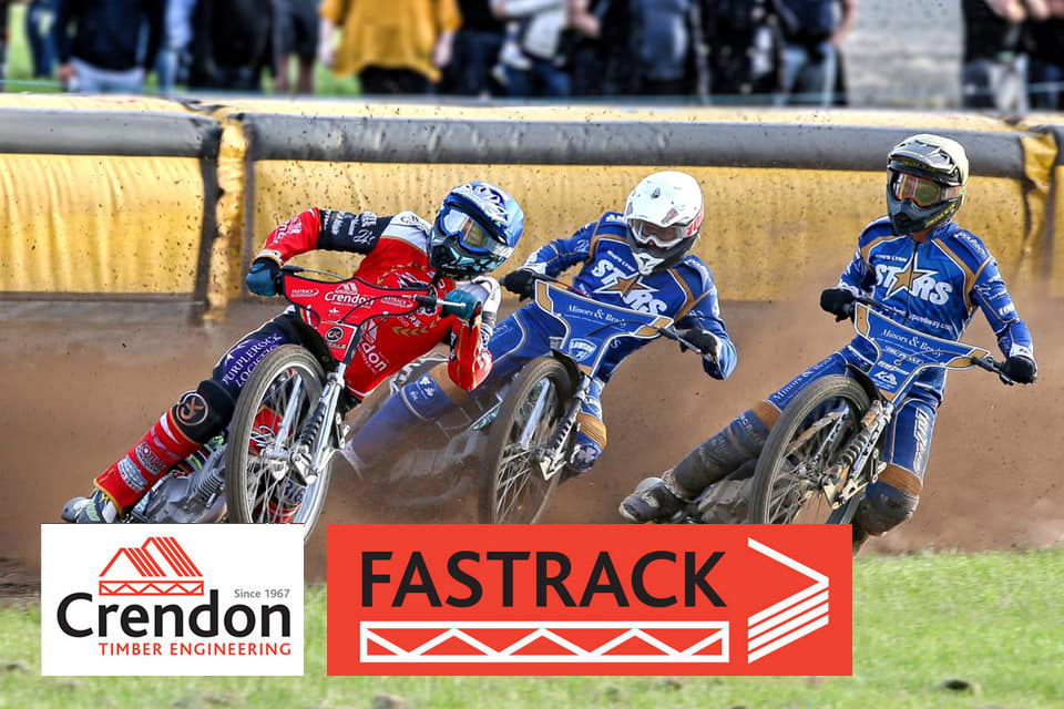 Top of the League for Crendon FASTRACK Peterborough Speedway Team!