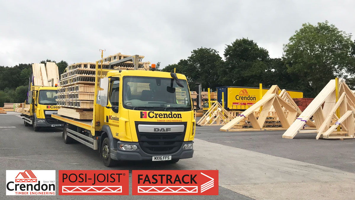 Another Two Full Loads of Posi-Joists and Roof Trusses